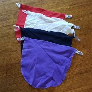 SET OF 4 BLOUSE INSERTS
